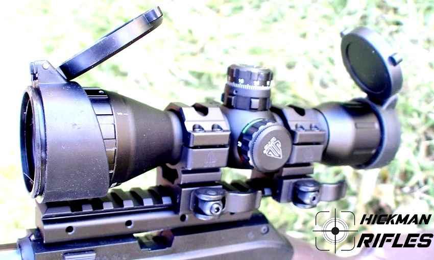 A short range rifle scope